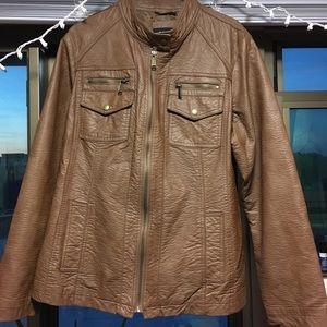 Apt. 9 Imitation Leather Jacket